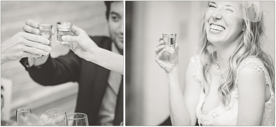 Wedding Toast at Alger House