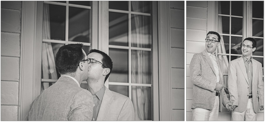 first kiss gay friendly wedding photographer
