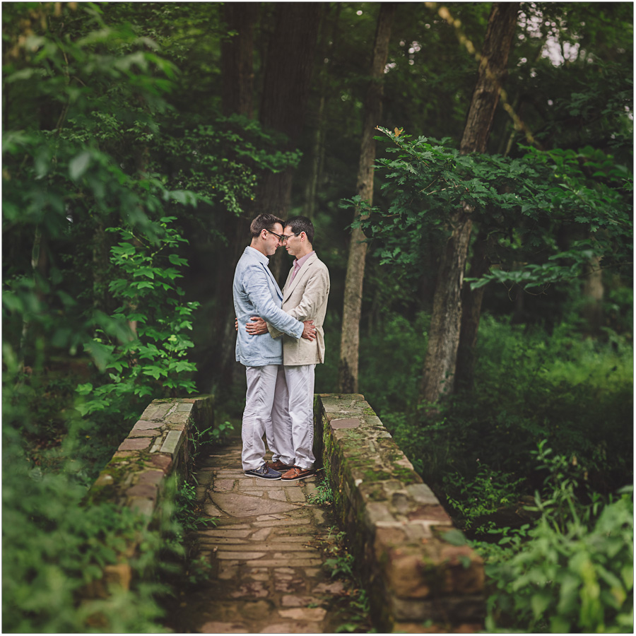 Brenizer Method portrait by a Same Sex Wedding Photographer