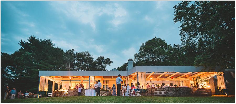 Night Photo of Mountain Lakes House