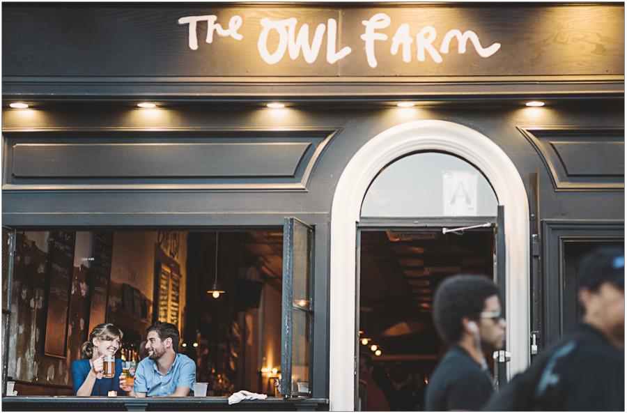 Portrait Owl Farm Park Slope Brooklyn