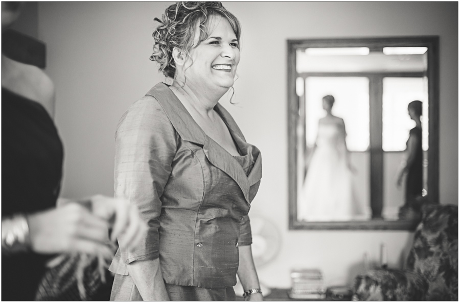 mother of the bride gets a glance