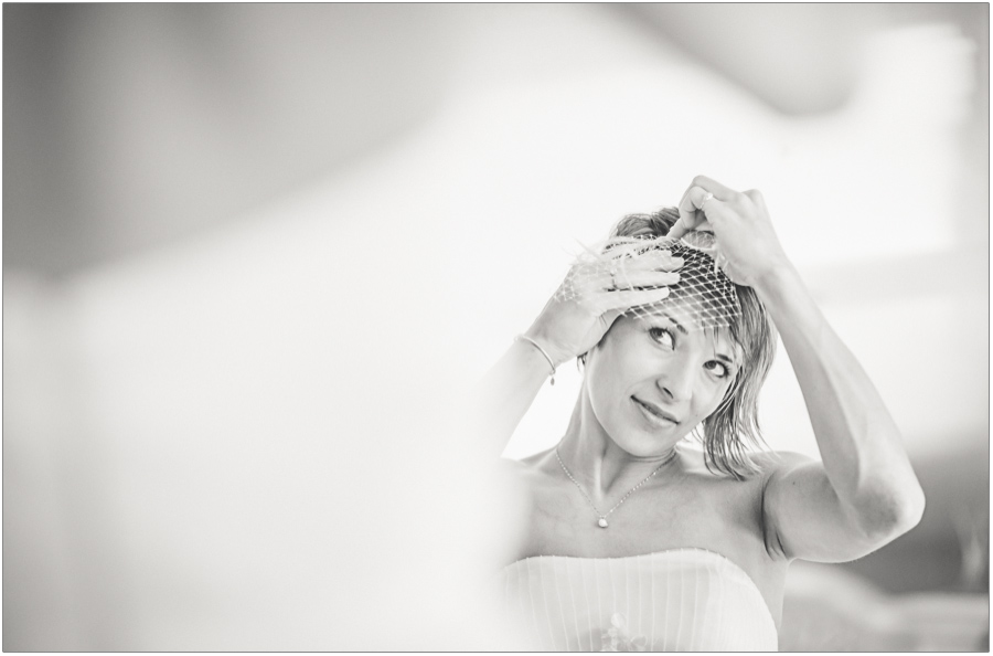 Candid Bride Prep Hair Net