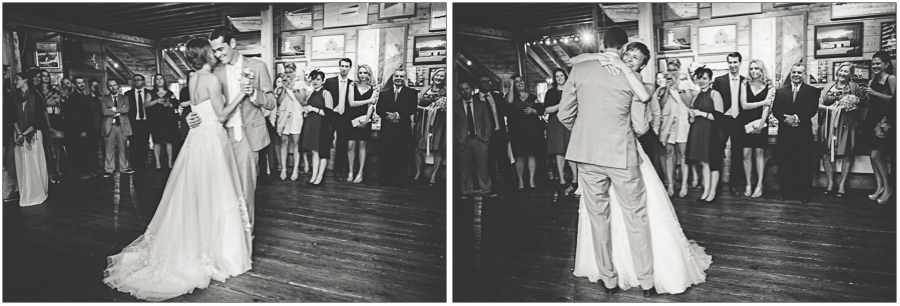First Dance at Borsari Gallery Reception