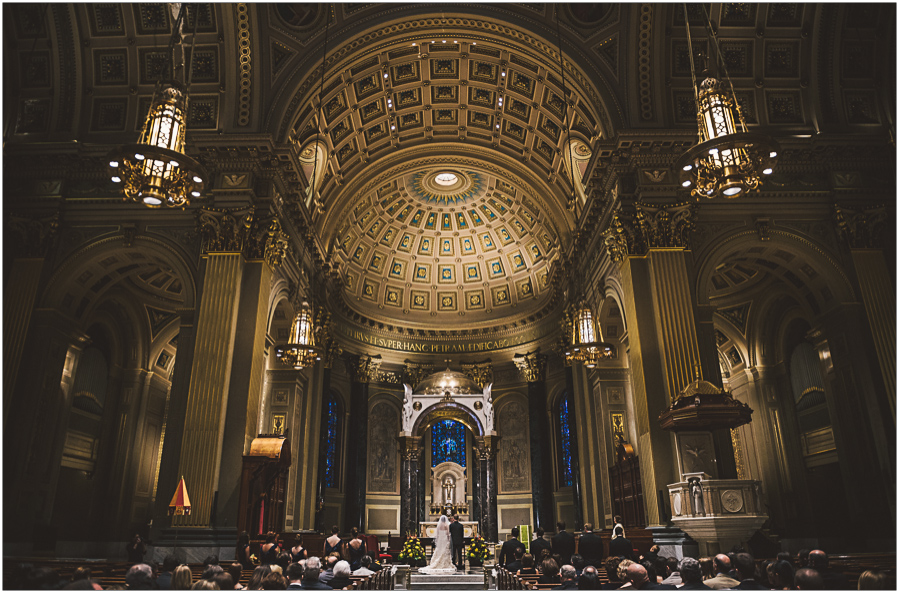 wedding basilica philadelphia