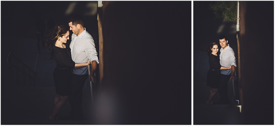 chiaroscuro lighting engagement session ny