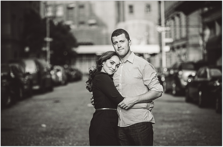 New York City Street Portrait Session