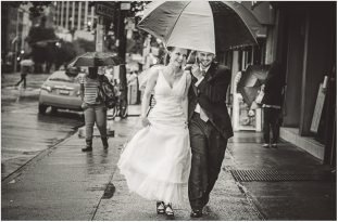 East Village Wedding Portrait