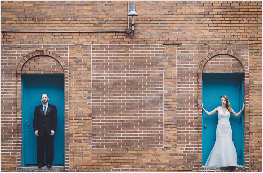 Brick Wall Portrait NY