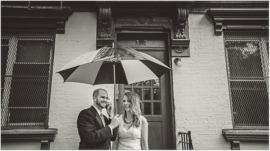 Happy Bride Groom East Village