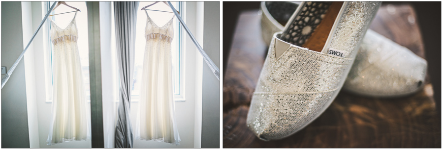 Wedding Dress Toms Shoes