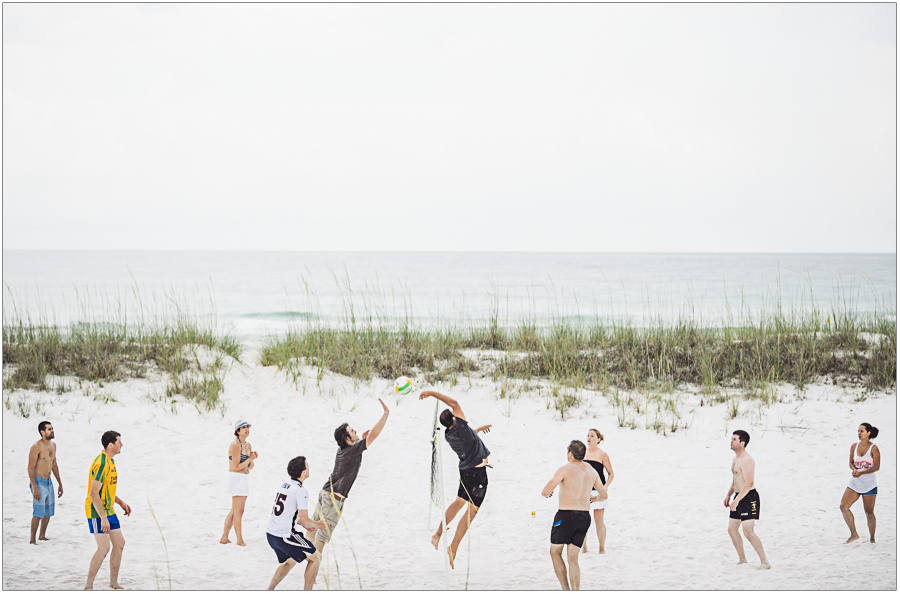 Volleyball Wedding Party