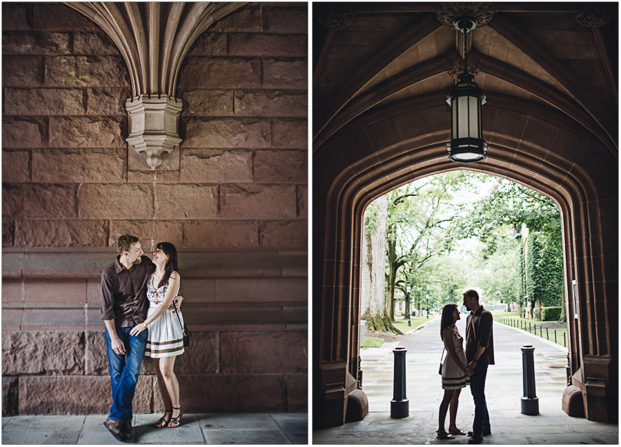 Princeton campus portrait Session