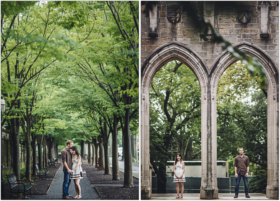 Symetrical Couples Portraits Princeton University