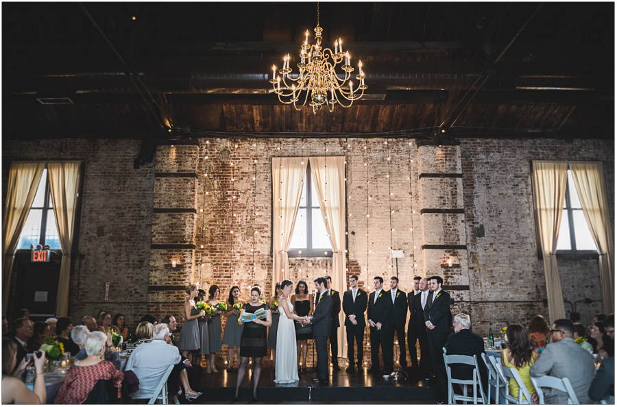 The Green Building Wedding Ceremony in Brooklyn