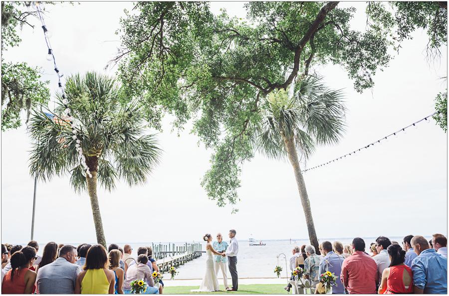 Destin Bay House Wedding Ceremony